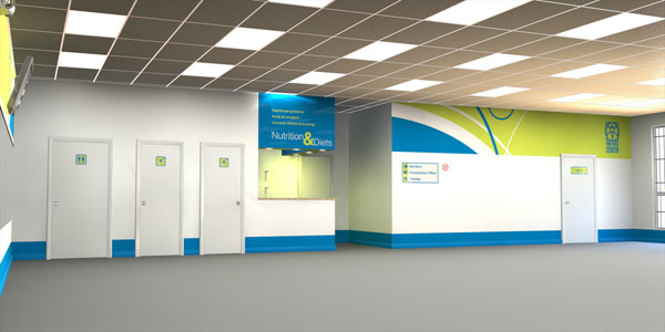 Design  with 3D for Pro Fitness Center Inc.