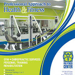 Advertising -Pro Fitness Center Inc.
