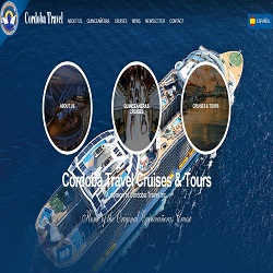 Sitio web de Cordoba Travel Cruises & Tours