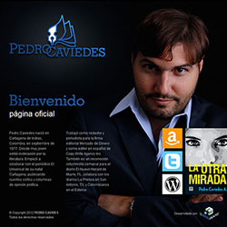 Pedro Caviedes , journalist and author