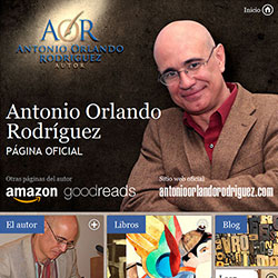 Social  Media Design  for Antonio Orlando Rodriguez, author